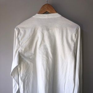 Patagonia Shirts - Patagonia White Long Sleeve Logo T